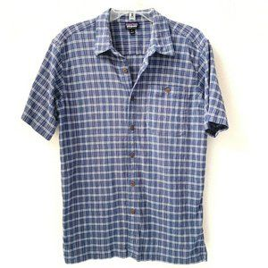 Patagonia Shirt Medium Organic Cotton A/C